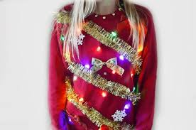 diy light up ugly christmas sweater paperblog
