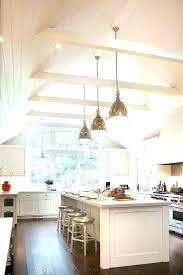 vaulted kitchen ceiling ideas vaulted ceiling kitchen lighting vaulted ceiling lighting ideas