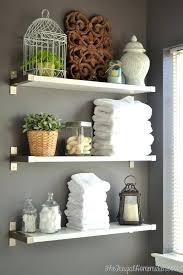 ideas to decorate bathroom walls bathroom wall shelf ideas decorating ideas for bathroom walls for