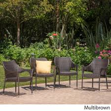 cliff outdoor wicker chairs by christopher knight home free