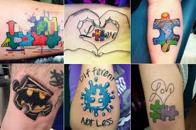 best autism awareness tattoos pictures style and ideas rewordio us