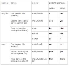 course english grade 2 topic pronoun