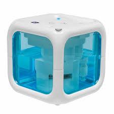 humidificateur d air chambre bébé chicco humidificateur à froid humi cube blanc et bleu achat
