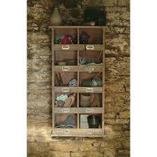 Cubby Hole Shelves by Tall Wooden Shelf Unit The Blue Door