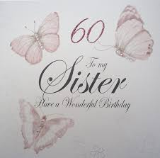 for a special sister on your 60th birthday amazon co uk kitchen