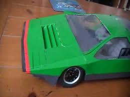alfa romeo carabo concept car model part 3 youtube