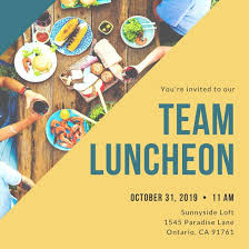 lunch invitation customize 113 luncheon invitation templates online canva