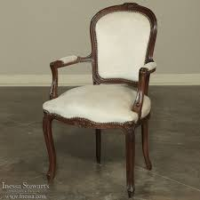 Louis Xv Armchairs Eight Antique Mohair French Dining Chairs In Louis Xv Style