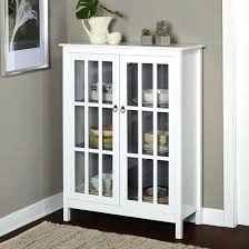 buffet cabinet with glass doors curio cabinets with glass doors tall white 50curio china display