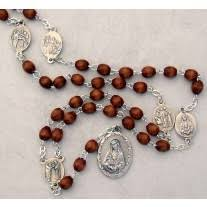 rosary of the seven sorrows new seven sorrows medals parts set pkg of 8