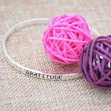 inspirational gifts o riya gratitude bracelet inspirational cuff bracelet
