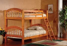 Bunk Bed With Mattresses Included Bedding Twin Single Bunk Frame Silver Childrens Metal Bunkbed