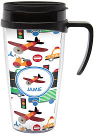 Travel Mug Transportation Travel Mug With Handle Personalized Potty