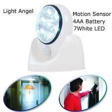 wireless sensor lights outdoor 2set lot 7 led wireless motion sensor light 360 degree rotation