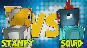 Stampy And Squid Adventure Maps Stampy And Squid Play Building Time Live At Minecon 2016 Youtube
