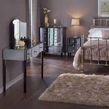 bedroom mirrored bedroom furniture hayworth mirrored bedroom