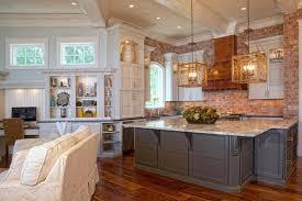 Kitchen Backsplash Brick Extraordinary Brick Veneer Kitchen Backsplash 56 For Home Pictures