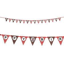 monkey ribbon sock monkey ribbon flag banner birthdayexpress