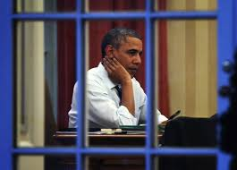 President Obama In The Oval Office Barack Obama Works In The Oval Office Zimbio