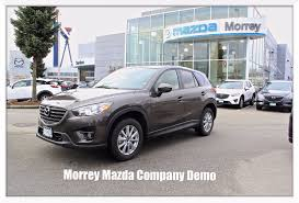 mazda company 2016 mazda cx 5 gs company demo luxury package with leather see