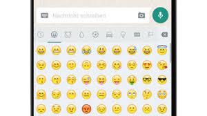 android smileys neue whatsapp emojis android update bringt neue smileys chip