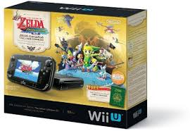 amazon wii u games black friday amazon com the legend of zelda the wind waker hd deluxe set