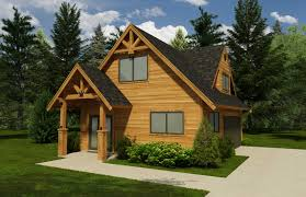 cabin garage plans home design 720