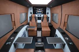 mercedes sprinter cost brabus turns mercedes sprinter into business lounge