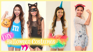 super easy last minute diy halloween costumes 2014 youtube