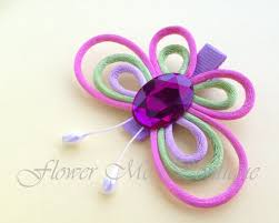 baby hair clip butterfly hair bows hair flower girl hair