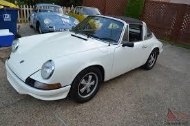 1972 porsche 911 targa for sale porsche 911t targa 911 vintage number matching white silver 2 4 fuchs