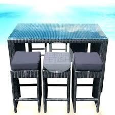 Patio Bar Table Vig Furniture Renava Genua Outdoor Bar Table Set Reviews Houzz