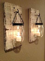 French Country Sconces Sconce Country Style Wall Sconces Mason Jar Candle Wall Sconces