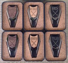 wooden groomsmen gifts 6 personalized groomsmen gifts wood golf marker divot