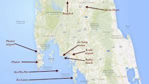 Phuket Thailand Map Which Island To Visit In Thailand Where To Stay How To Arrive