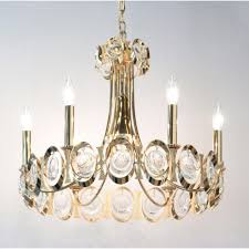 Elegant Crystal Chandelier 12 Best Ideas Of Brass And Crystal Chandelier