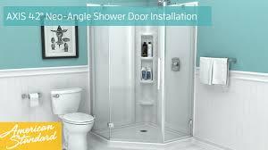 Neo Shower Door How To Install American Standard Axis 42 Neo Angle Shower Door