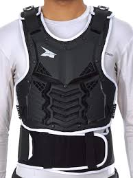 axo motocross gear axo black 2018 dobermann mx chest protector ebay