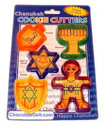 hanukkah cookie cutters cookie cutters