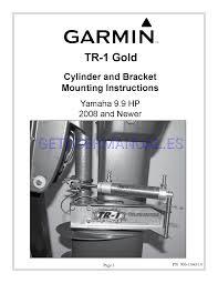 garmin marine instruments tr1 gold user u0027s manual download free