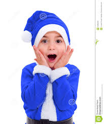 santa claus costume for toddlers little boy in blue santa claus costume royalty free stock photos