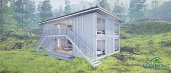sch6 6 x 40ft double storey container duplex eco home designer