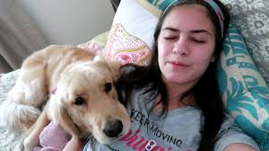 service dog saves me from a fainting spell 8 22 17 youtube