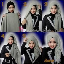 tutorial turban sederhana tutorial hijab turban segi empat simple jilbab tutorial hijab