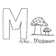 25 free pritable mushroom coloring pages