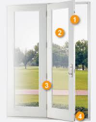 Hinged Patio Door Door Design Features