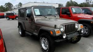 ford jeep 2005 2005 jeep wrangler tj unlimited 4x4 review charleston suv videos