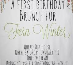 birthday brunch invitation birthday party inspiration a sweet and simple brunch