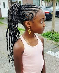 feed in braids natural hairstyles for kids dem braids pinterest