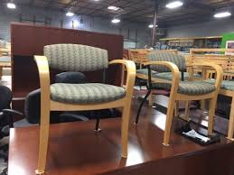 Gunlocke Chair Gunlocke Guest Chairs With Wood And Metal Frame Office Furniture